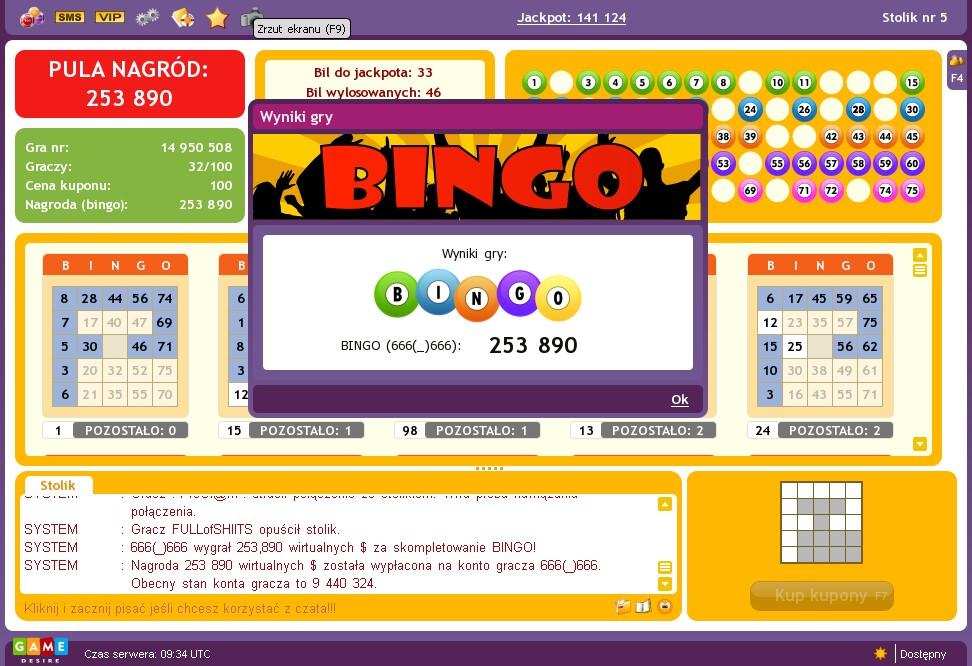 Casino player profiles